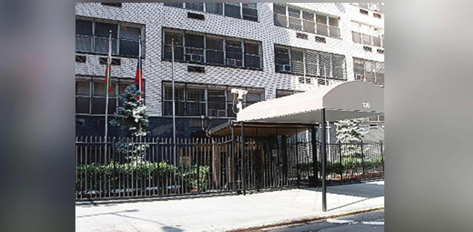 PHOTO: The Permanent Mission of the Russian Federation to the United Nations in New York.