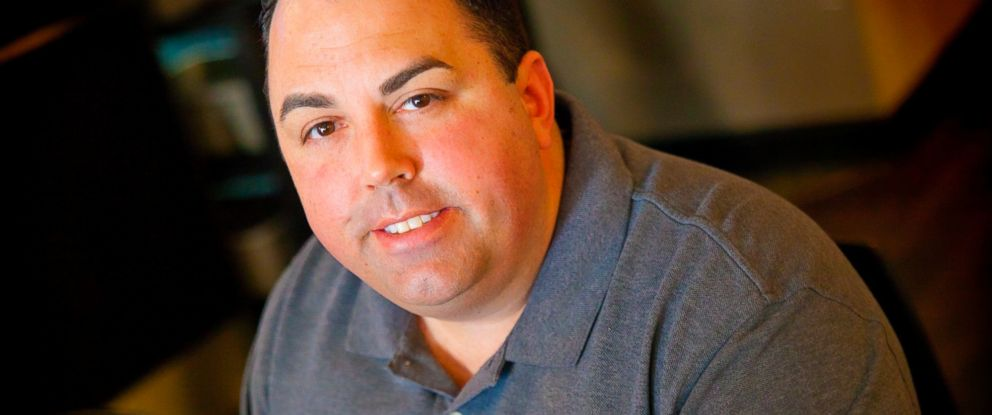 """PHOTO: Peter Schorsch deliberately ended a """"Pay It Forward"""" line at Starbucks today because he thought people were doing it out of guilt, not generosity."""