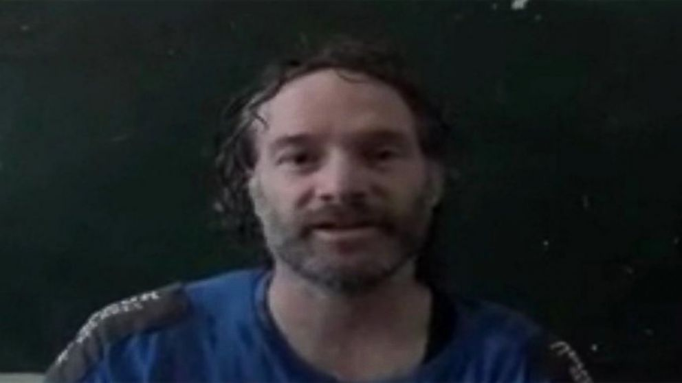 PHOTO: American journalist Peter Theo Curtis is shown in this image.