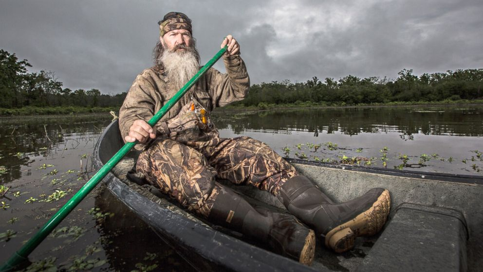 PHOTO: Phil Robertson in a scene from the A&E show, Duck Dynasty.