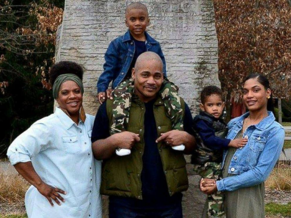 PHOTO: Indianapolis State Police officer Precious Cornner-Jones is pictured with her husband, Thaddeus, sons, 5-year-old Gabriel and 2-year-old Caleb, and daughter Samon, 17.