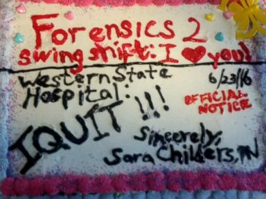 Nurse Resigns by Sending 'I Quit' Cake to Her Employer