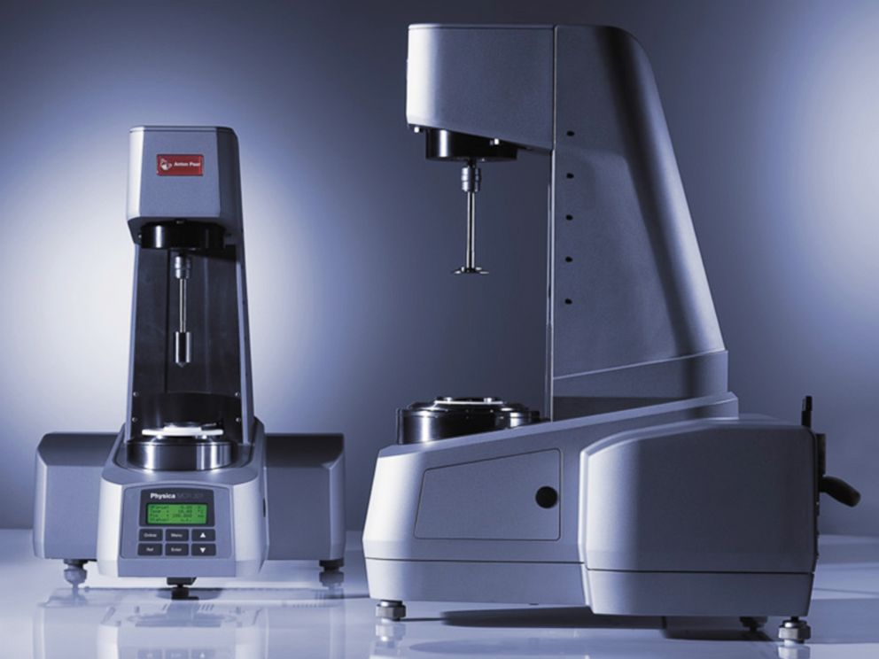 PHOTO: Rheometer Anton Paar model MCR is seen here, April 26, 2004.