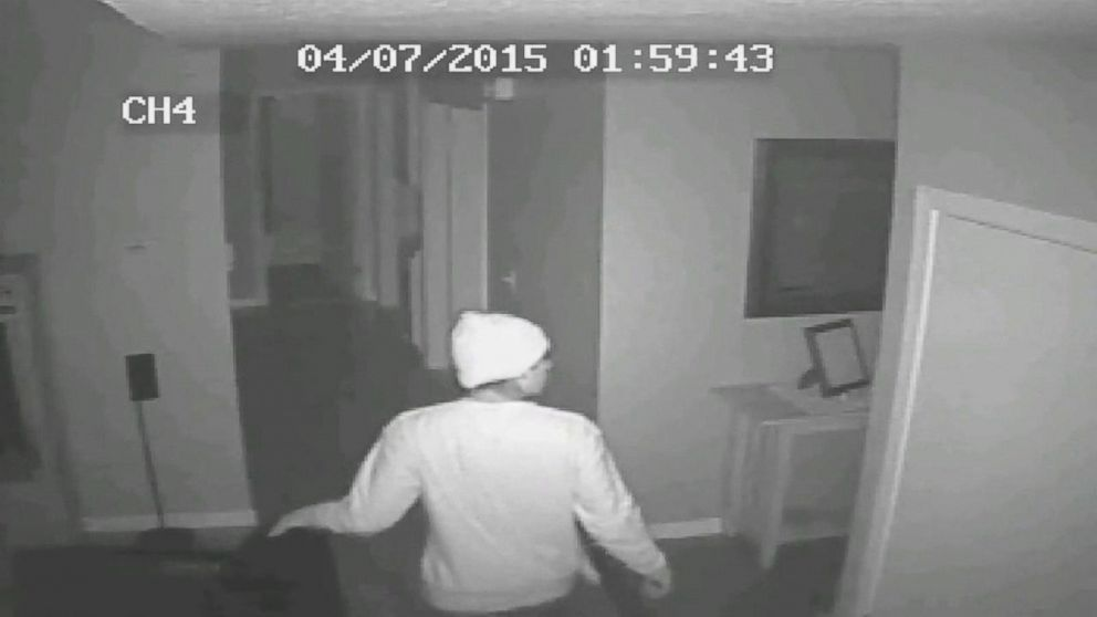 Video Shows Brazen Burglar Breaking Into California Home