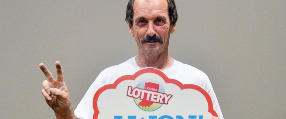 PHOTO: Robert Hamilton of Indianapolis has won two separate $1 million prizes playing scratch-off games.