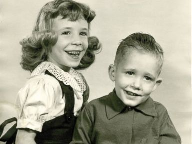 PHOTO: Robert Hutton and his older sister Edyth Hutton.