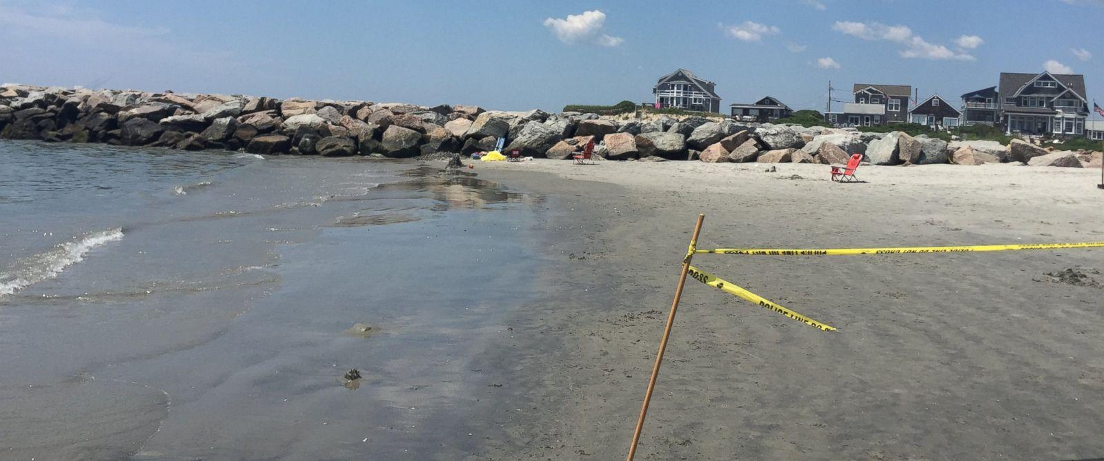 Explosion At Salty Brine State Beach Rhode Island