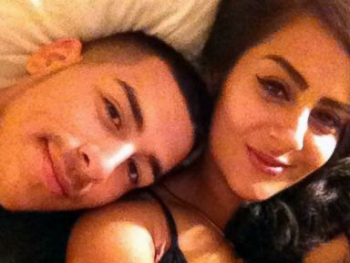 PHOTO: California police are in pursuit of a couple whose selfie showed up on the cloud account of stolen electronics.