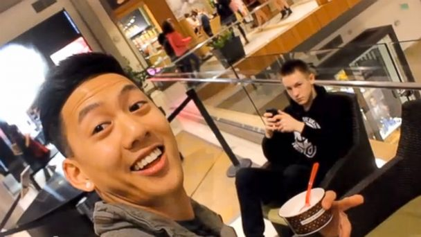 HT selfie video 01 jef 140312 16x9 608 Smile, Youre in My Selfie: Selfies with Strangers