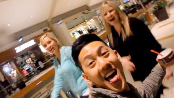 HT selfie video 02 jef 140312 16x9 608 Smile, Youre in My Selfie: Selfies with Strangers