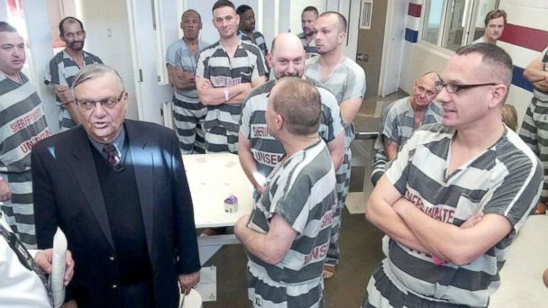 HT sheriff arpaio sr 131211 16x9 608 Arizona Sheriff Joe Arpaio to House Jailed Vets Together
