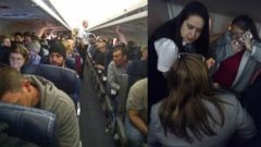 Passengers on board an American Airlines flight were delayed at least nine hours Feb. 27, 2015, according to a company spokesman.