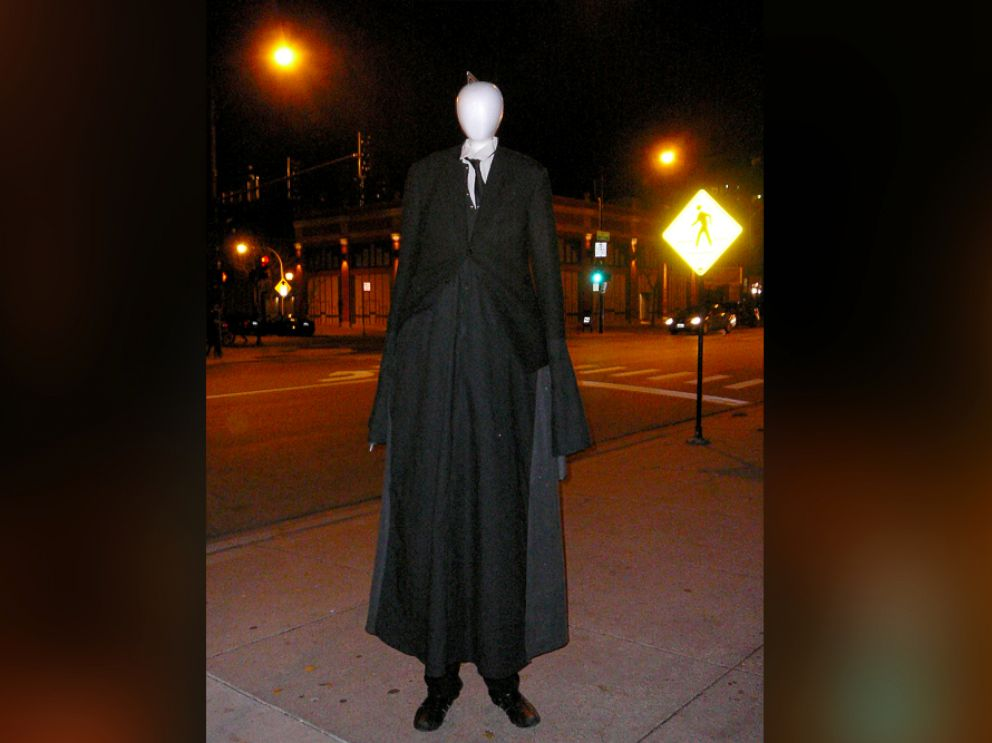 PHOTO: One of many internet depictions of the fictional character, Slender Man.