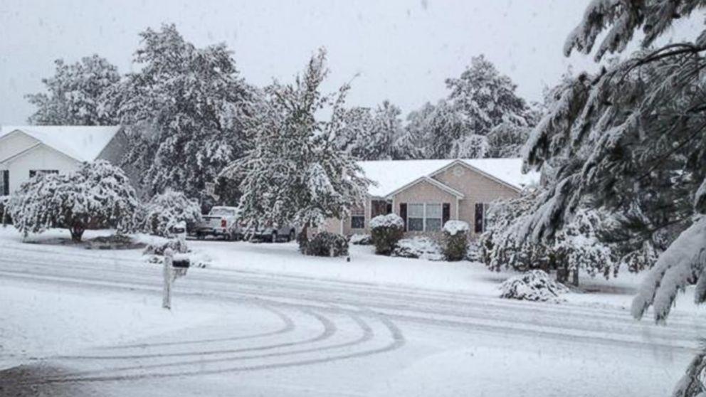 Early Season Snow, Cold Shocks the Southeast - ABC News