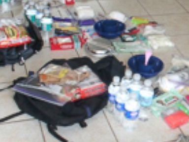 PHOTO: Phil Burns of the American Preppers Network recommends updating your preparedness kits twice a year.
