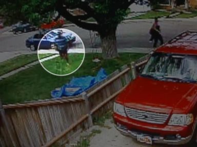 PHOTO: Surveillance video is seen here from a carjacking incident in Ohem, Utah, May 2, 2015.