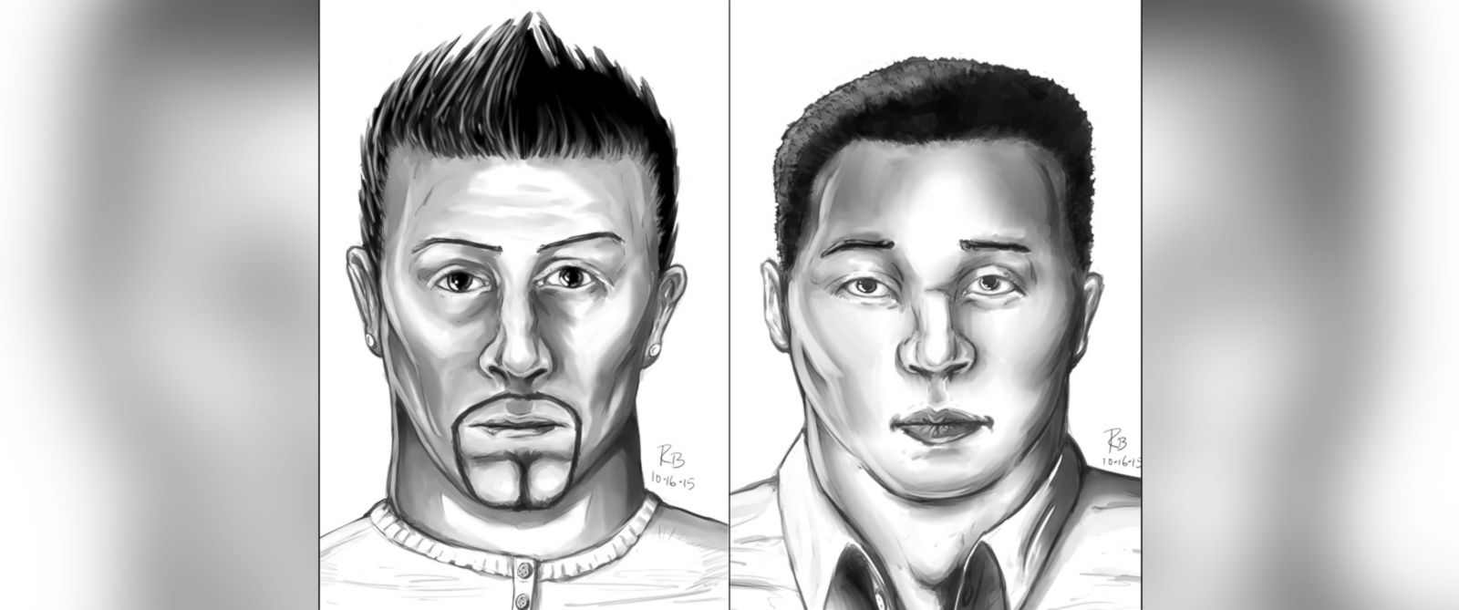PHOTO: The Sacramento Police Department released two composite sketches depicting what the suspects in the stabbing of Spencer Stone are believed to look like.