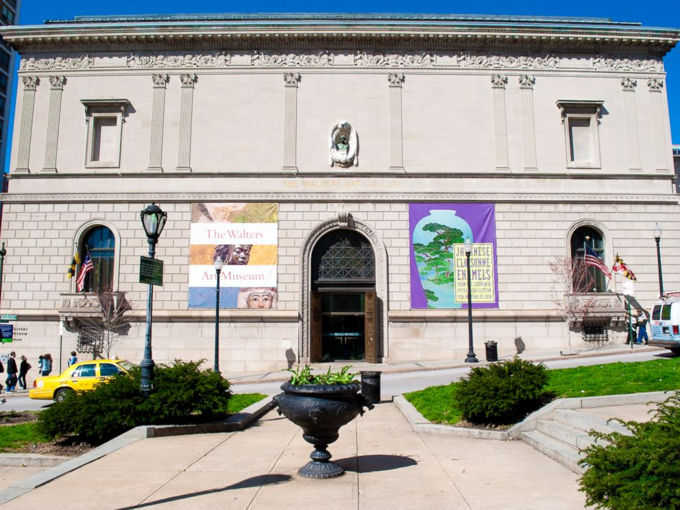 PHOTO: The exterior of The Walters Art Museum is seen in Baltimore.
