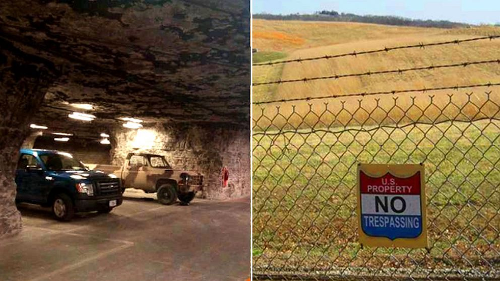 PHOTO: A survival shelter and resort is being planned in a former limestone mine in Atchison, Kansas.