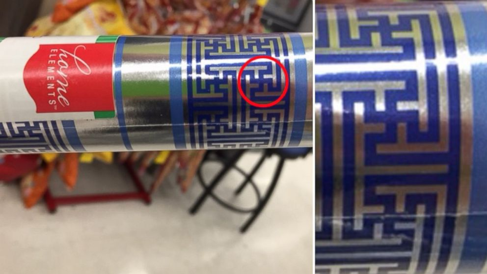 Wrapping Paper With Swastika Pattern Recalled by Walgreens - ABC News
