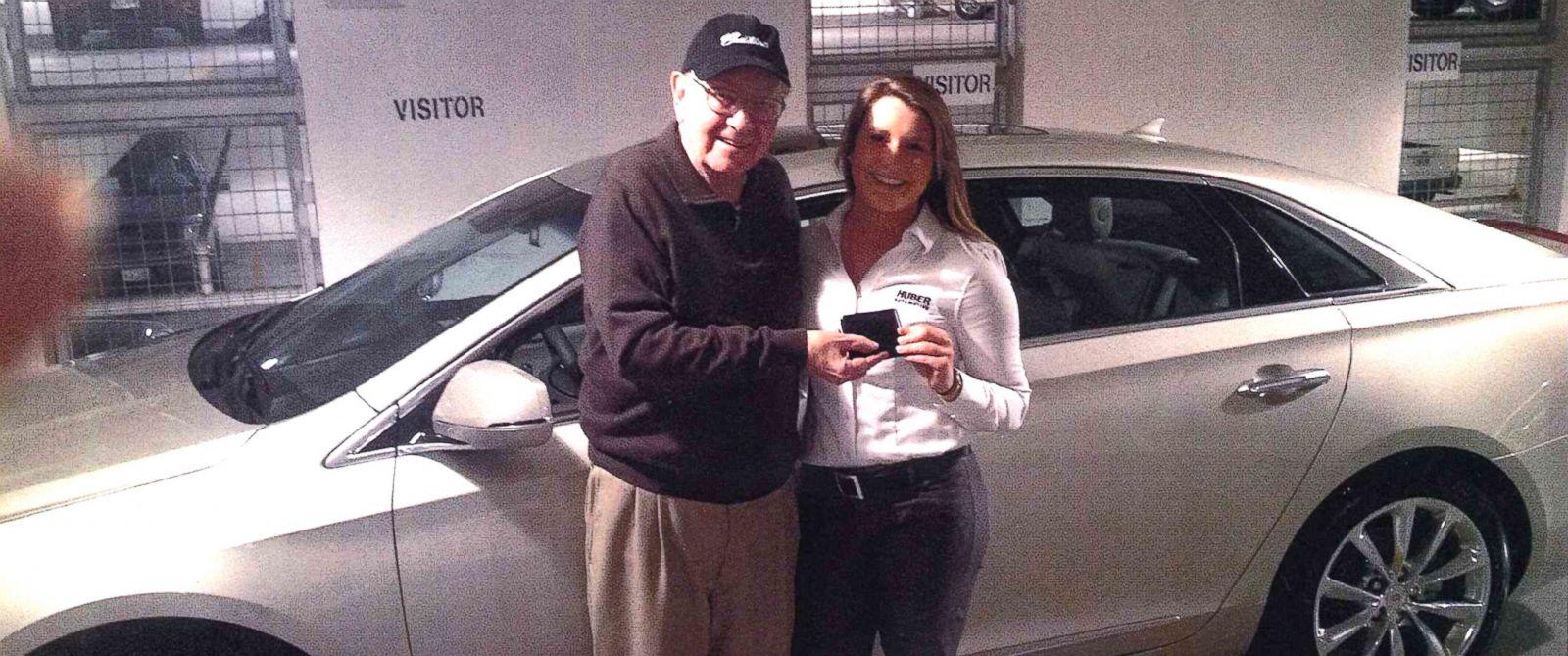 "PHOTO: Local Omaha Cadillac saleswoman impresses famous ""secret shopper."""