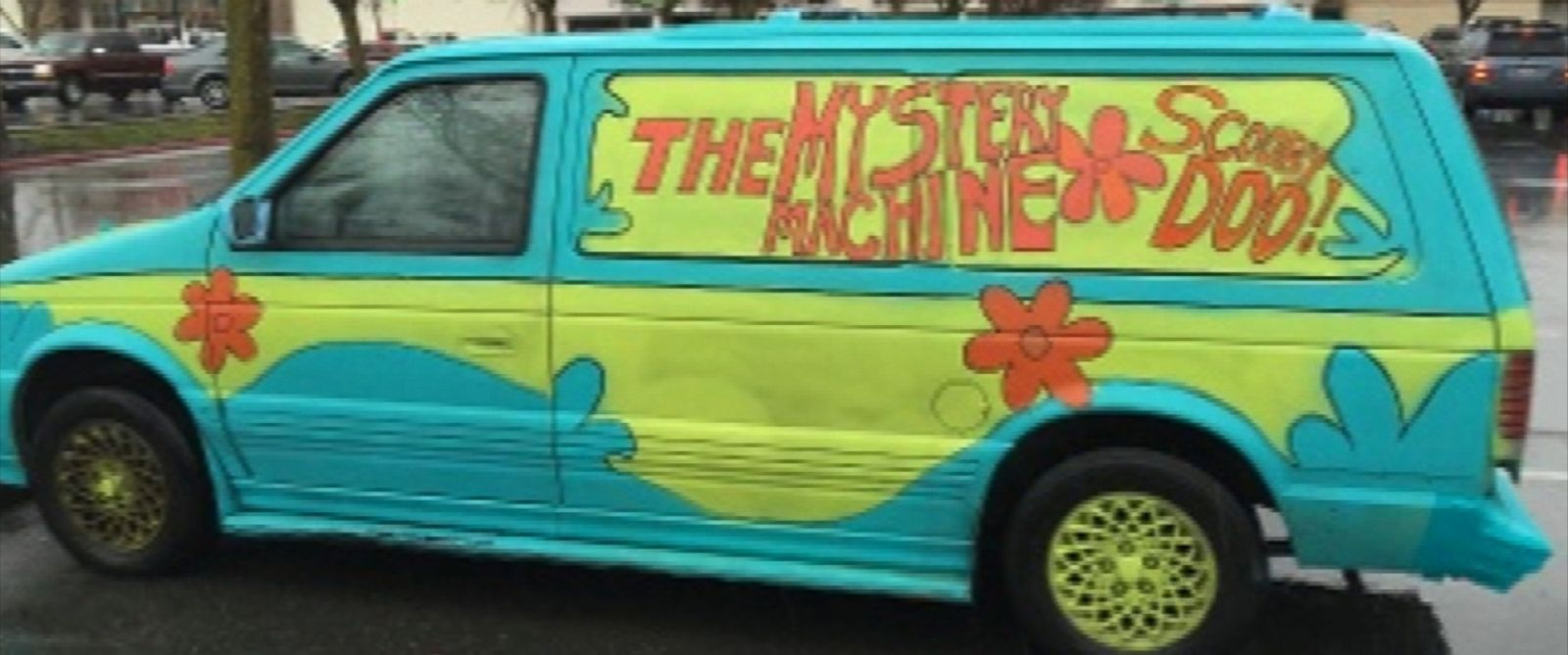 "PHOTO: Sharon Turman, 51, led police on a high-speed chase on March 6, 2016, in a van resembling the ""Mystery Machine"" on ""Scooby Doo,"" according to the Redding Police Department in California."