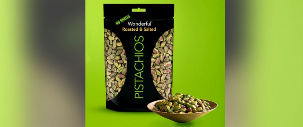 """PHOTO:Wonderful Pistachios voluntarily recalled """"a limited number of flavors and sizes of in-shall and shelled pistachios because they may be contaminated with Salmonella."""""""