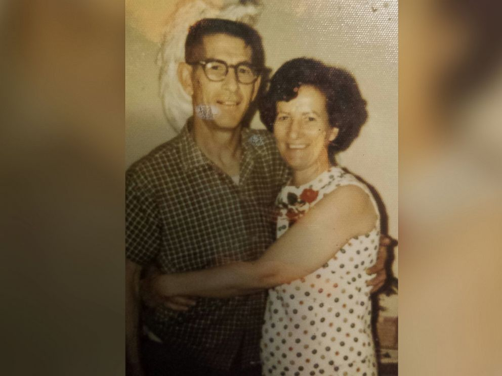PHOTO: Harvey and Mildren Wosika are pictured in 1971, five years after they wed.