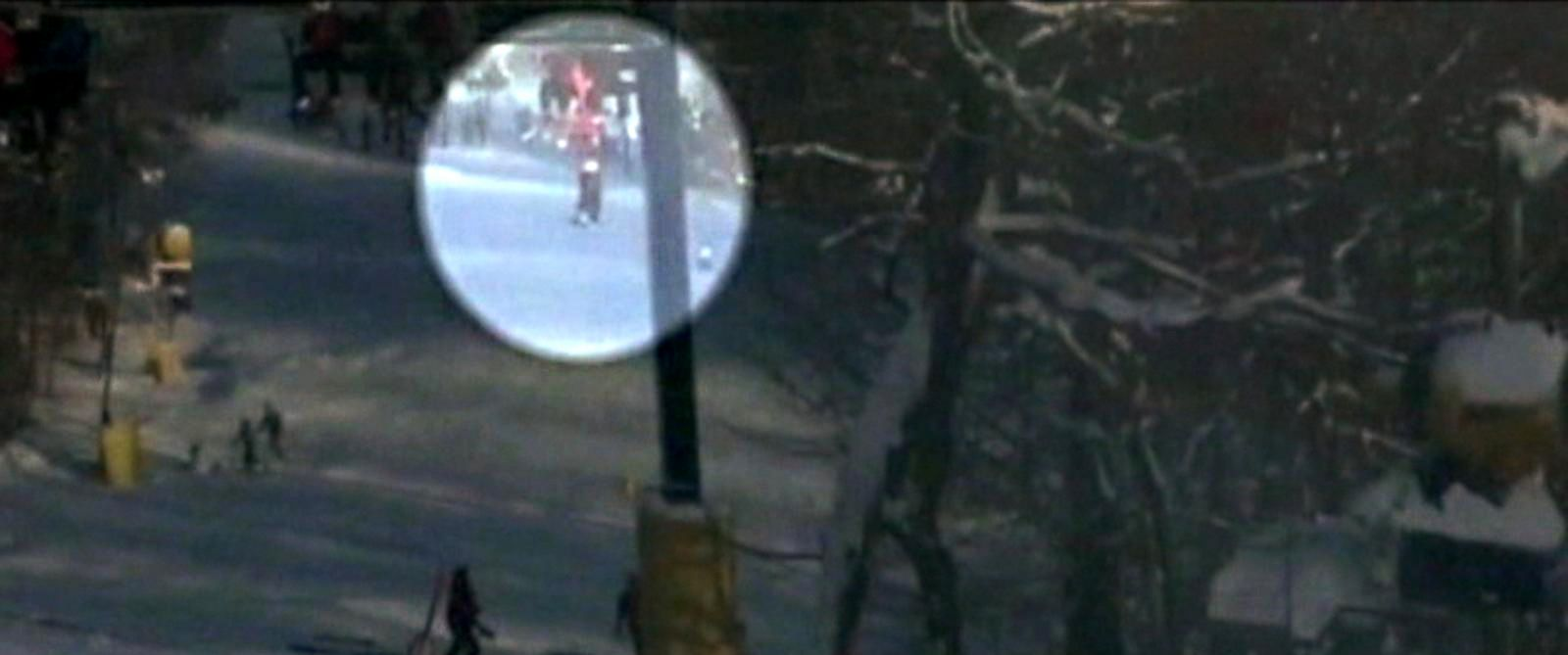 PHOTO: Video captured Jan. 10, 2015 at Liberty Mountain resort in Fairfield, Pennsylvania shows a boy dangling from a ski lift.