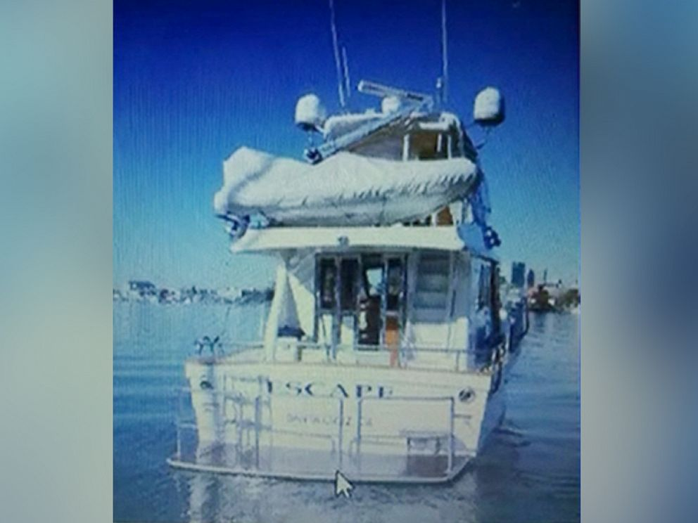 PHOTO: The Escape is the yacht where Forrest Hayes was found dead.