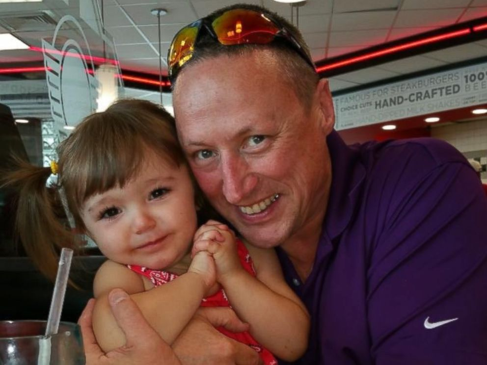 PHOTO: Braelyn Dalsing is pictured with her adoptive father Ed Dalsing.