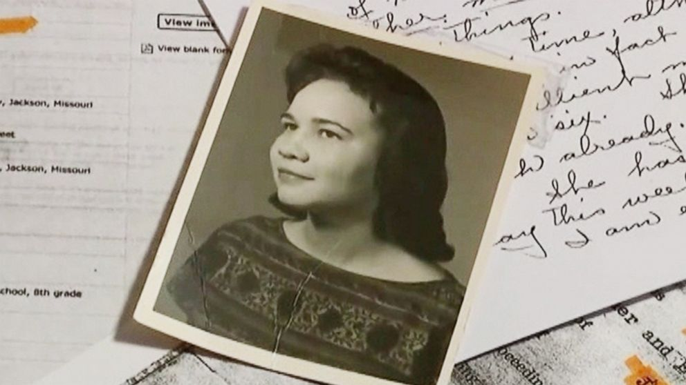 PHOTO: Verda Byrd was adopted and raised as a fair-skinned African-American, but later discovered that her birth parents were white.