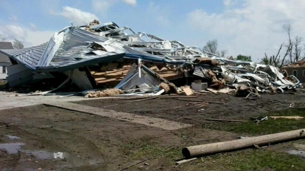 Homes Were Reported Damaged in