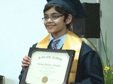 10-Year-Old Genius Graduates High School
