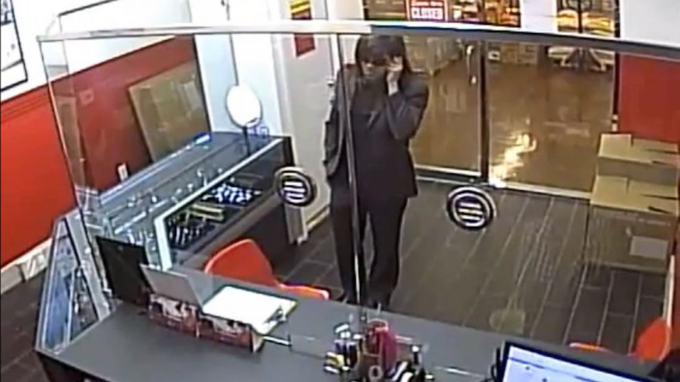 "PHOTO: Los Angeles Police released a video of robbery suspect ""Asian Wig Bandit."""
