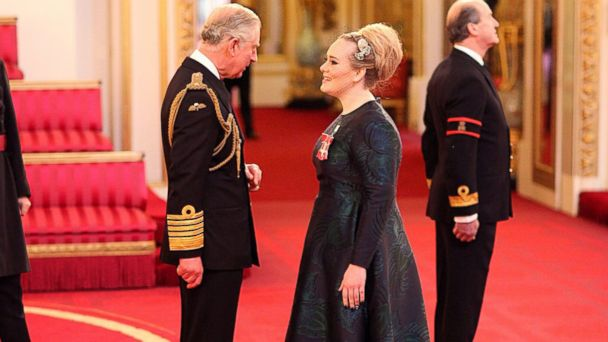 LV adele prince charles sk 131219 16x9 608 Instant Index: Adele Receives Royal Honor