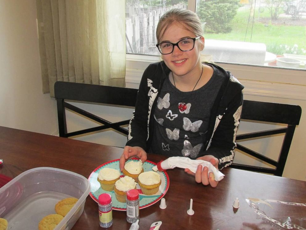 PHOTO: Morgan Geyser decorates cupcakes on her 12th birthday two weeks prior to her arrest for attempted first-degree intentional homicide on May 31, 2014, in the Slender Man stabbing.
