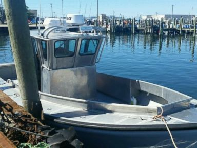 PHOTO: A picture of the boat in which Nathan and Linda Carman went missing after sailing from Point Judith, Rhode Island on September 17, 2016.