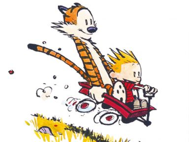 'Calvin and Hobbes' Creator Returns (Briefly) to the Comics Page