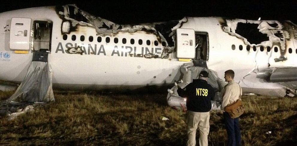 PHOTO: NTSB investigators conduct first site assessment of #Asiana214 in S.F.