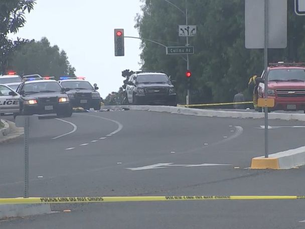 WATCH:   2 officers shot, 1 killed, after responding to traffic accident in California