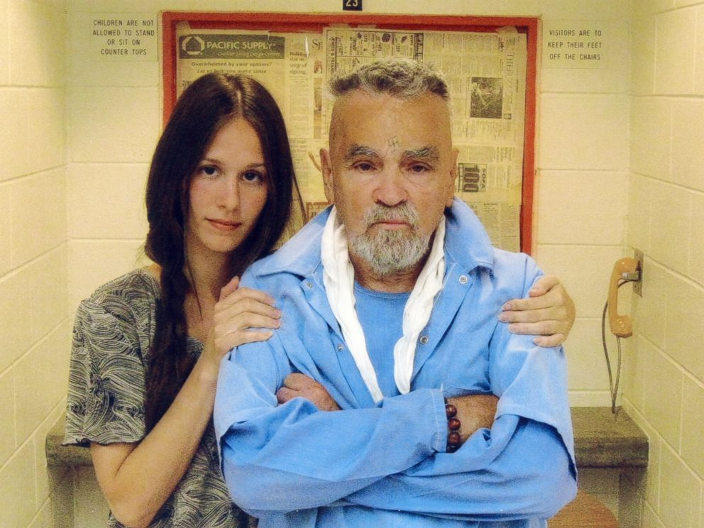 PHOTO: Charles Manson is photographed with Star, June 13, 2010.