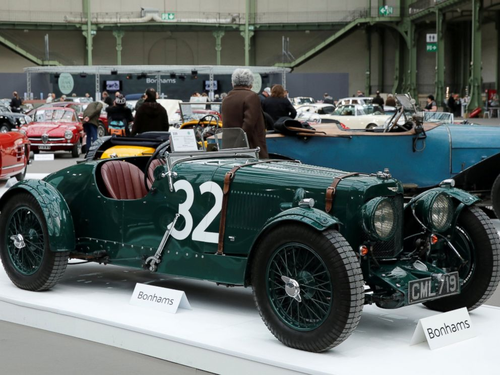 Classic Car Collectors Meet In France For Retromobile Week Abc News