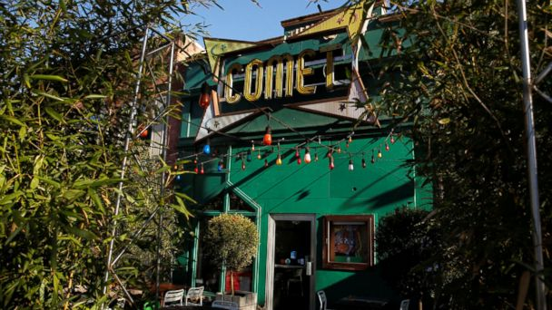 PHOTO: The Comet Ping Pong pizza restaurant in Washington, D.C. is pictured Dec. 5, 2016.