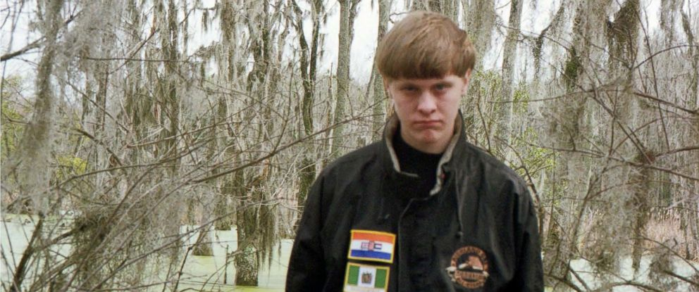 PHOTO: Dylann Roof is seen in a U.S. District Court of South Carolina evidence photo which was originally taken from Roofs website.
