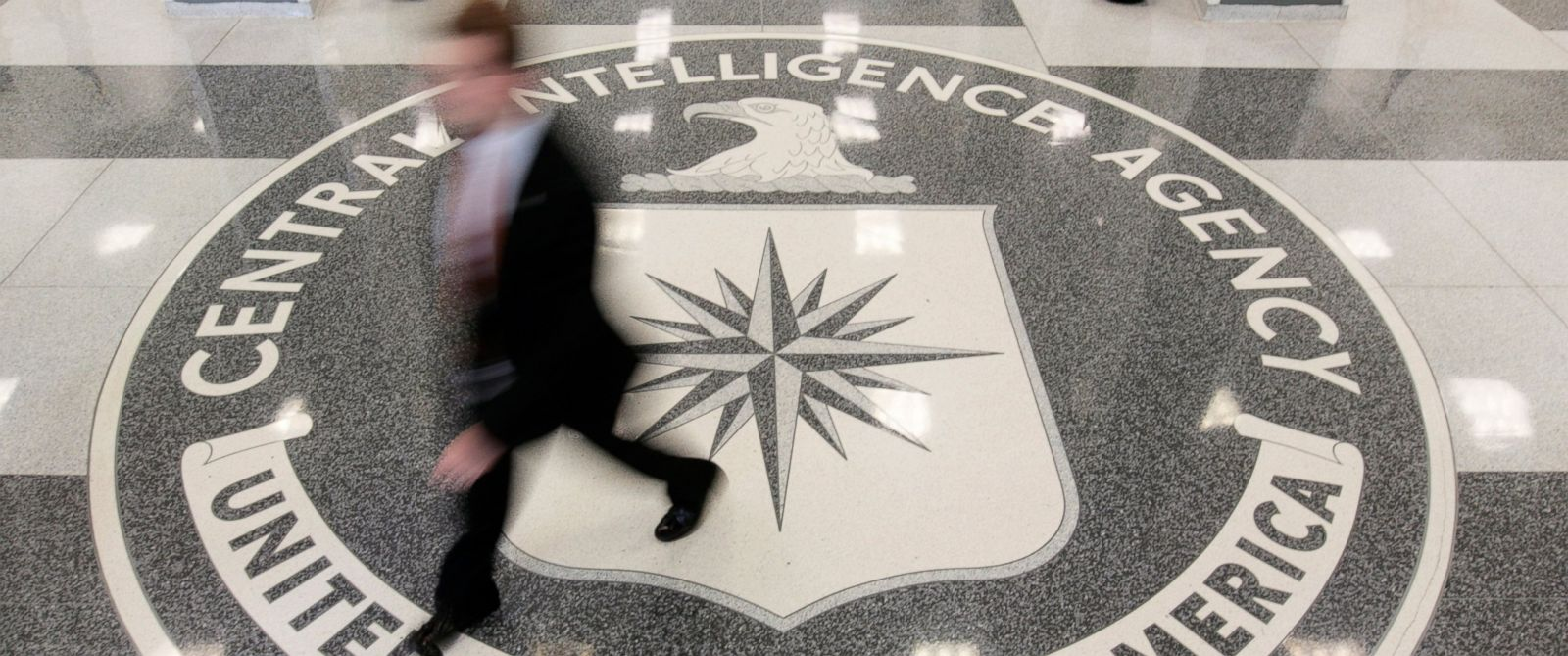 PHOTO: The lobby of the CIA Headquarters Building in McLean, Virginia, Aug. 14, 2008.