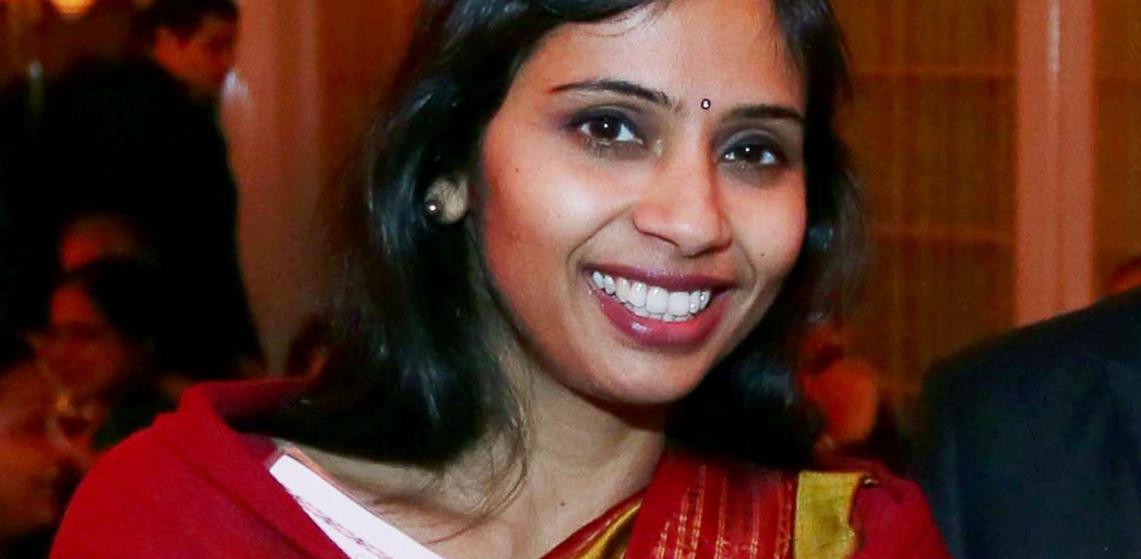 PHOTO: Devyani Khobragade, Indias deputy consul general, attends the India Studies Stony Brook University fundraiser event in Long Island, New York, December 8, 2013.