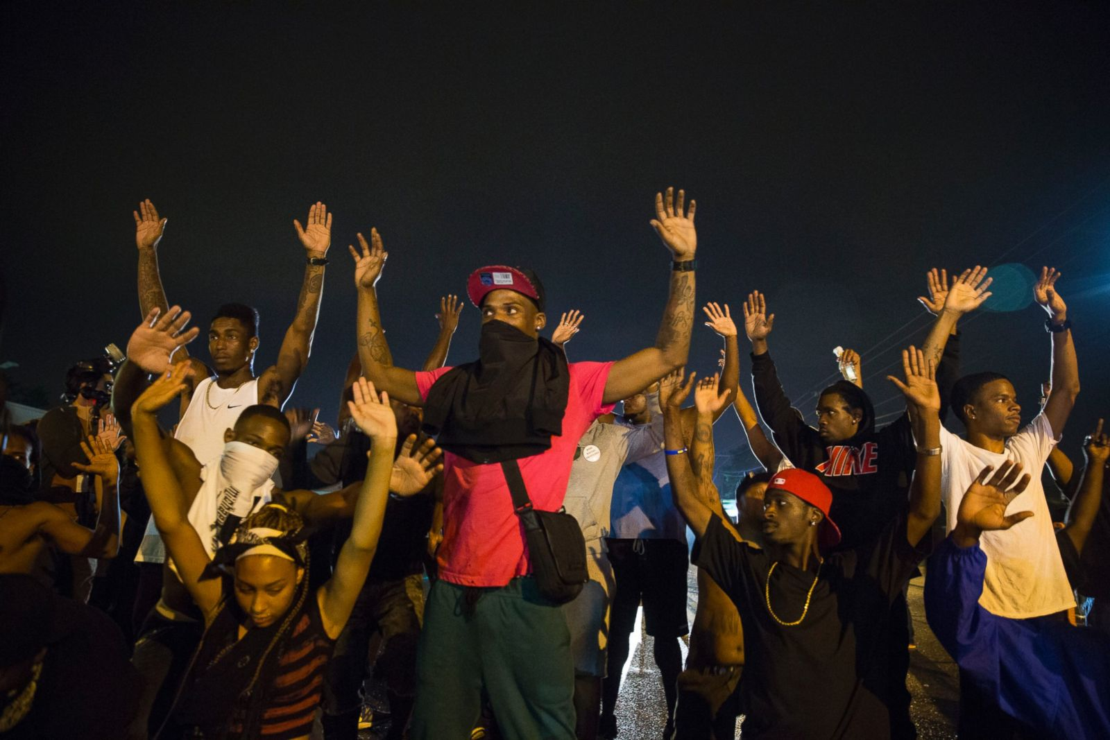 a discussion on the protests in ferguson missouri and in new york city