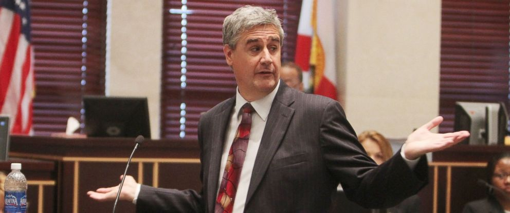 PHOTO: Florida assistant state attorney Jeff Ashton begins closing arguments for the state in the murder trial of Casey Anthony at the Orange County Courthouse in Orlando, Fla., July 3, 2011.