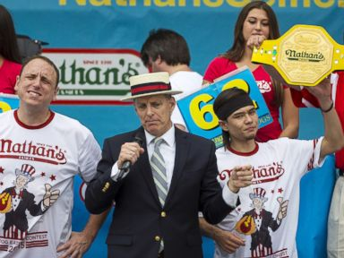 Reigning Champ Loses Nathan's Hot Dog Title